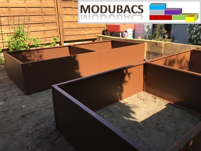 la fabrication de modubacs jardin potager direct usine. Black Bedroom Furniture Sets. Home Design Ideas